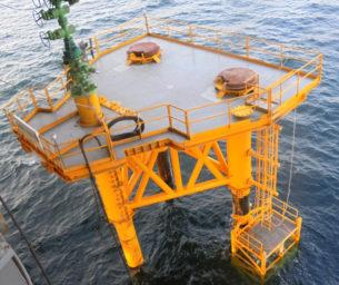 Minimum facility platform
