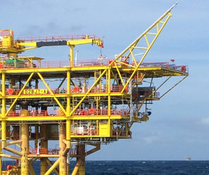 2H Offshore installs fast track, conductor supported platform offshore Malaysia share