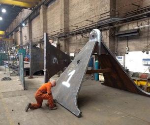 Anchor & SEPLA fabrication & installation