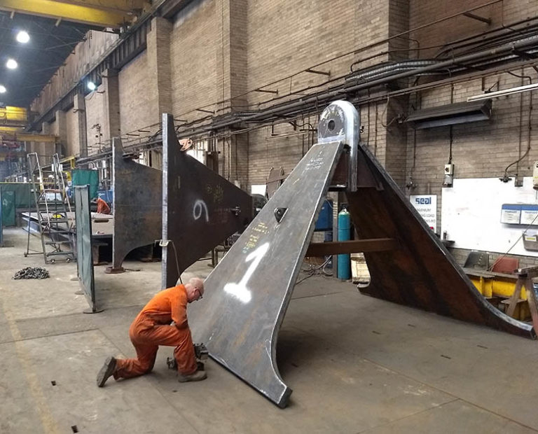 Anchor and SEPLA Fabrication and Installation