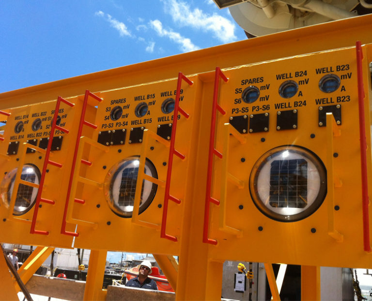 Cathodic Protection Monitoring Equipment - SunStationFrontPanels