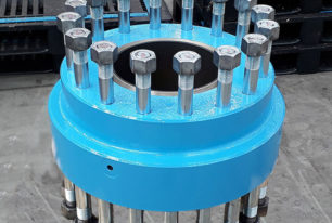 Double studded adaptor flanges