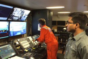 Subsea offshore inspection support