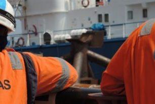 LDD completes platform jacket foundation installation, Offshore Gabon