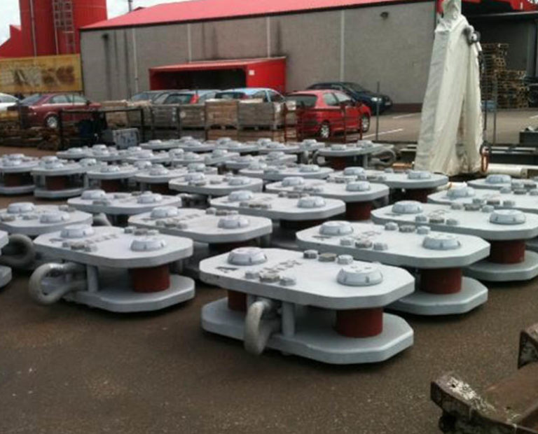 LTM Components H Link Design and Fabrication from InterMoor