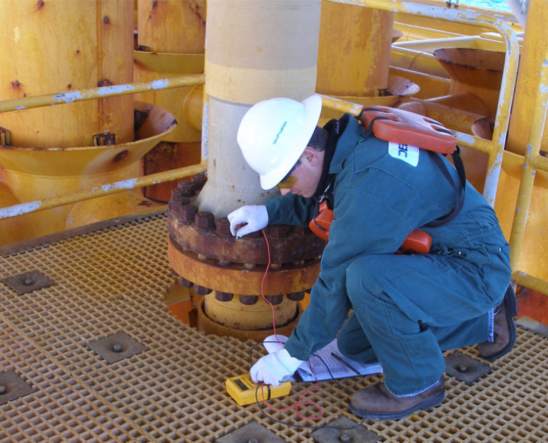 Level I Topside Corrosion Inspection - Flange Readings Action