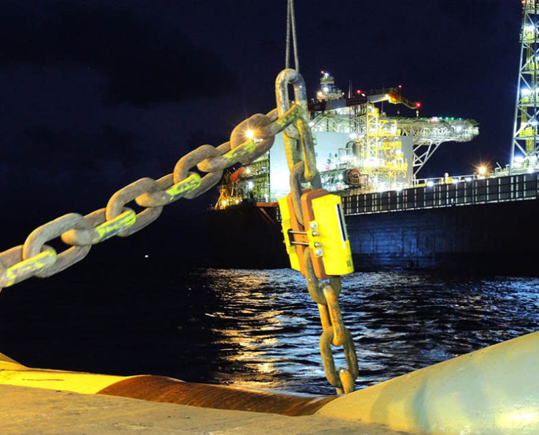 Mooring Line Monitoring - 3D Real time View from InterMoor