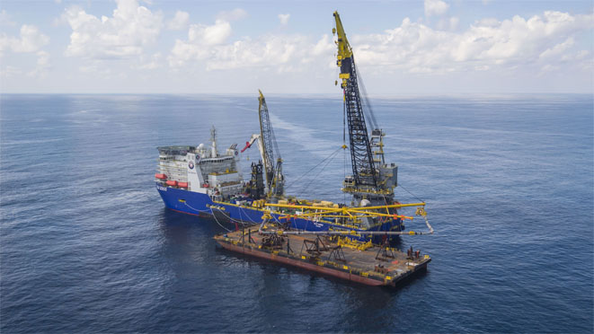 UTEC will provide surface and subsea positioning services