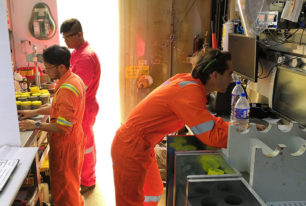 Offshore laboratory testing