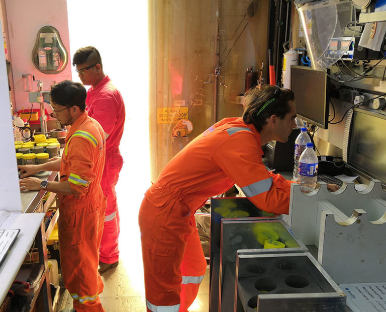 Offshore Lab Testing - PSO