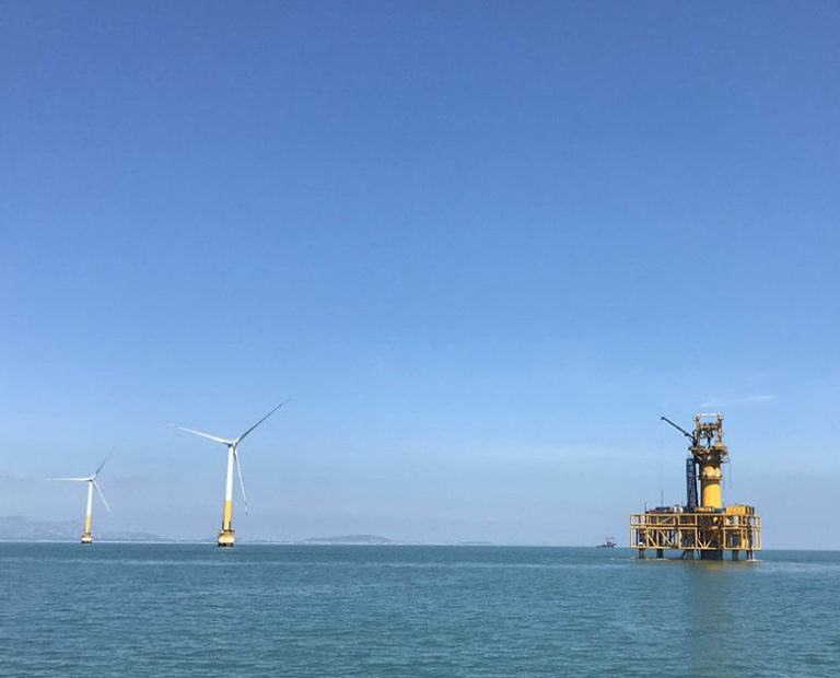 Offshore Wind Farm Foundation Installation Services from LDD