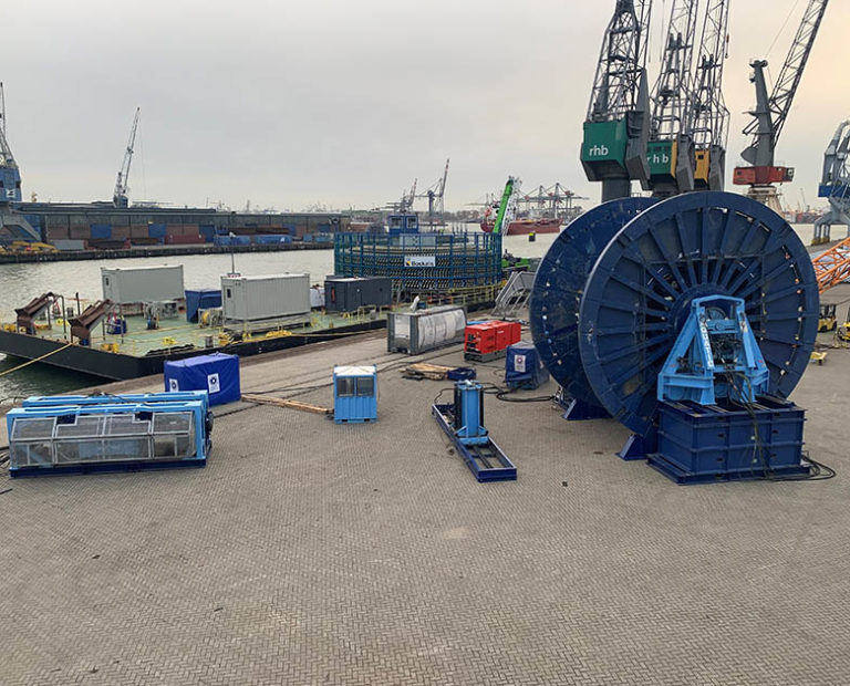 Onshore Cable Handling Services