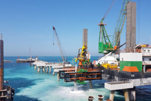 Pile top drilling services