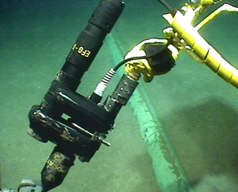Pipeline survey calibration stab