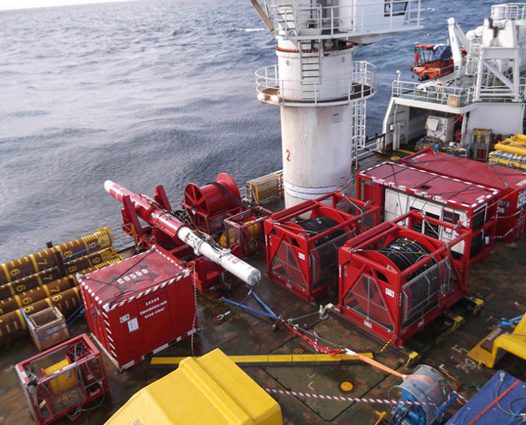 Subsea Piling Services from CIS