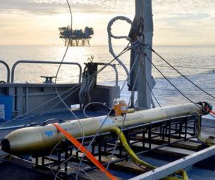 Autonomous underwater vehicle (AUV) survey