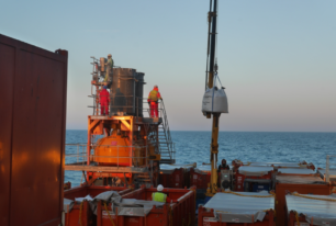 Offshore foundation grouting services