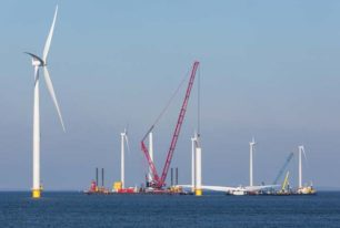 Offshore renewables and marine construction installation