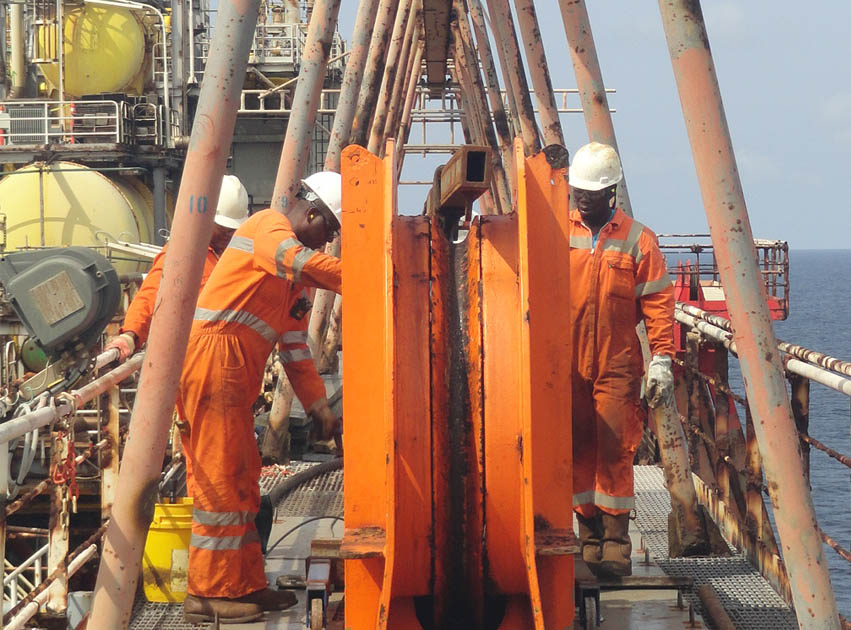 Decommissioning work in West Africa