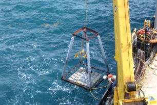 Deepwater retrofits the cathodic protection on five structures in 14 days