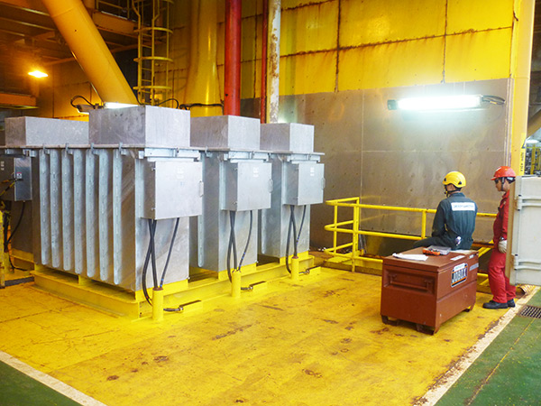 Rectifiers - one transformer rectifier is used for each RetroBuoy