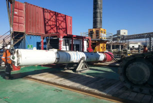 CIS Completes Pile-Driving Operation to Construct Phosphate Export Terminal in Jordan