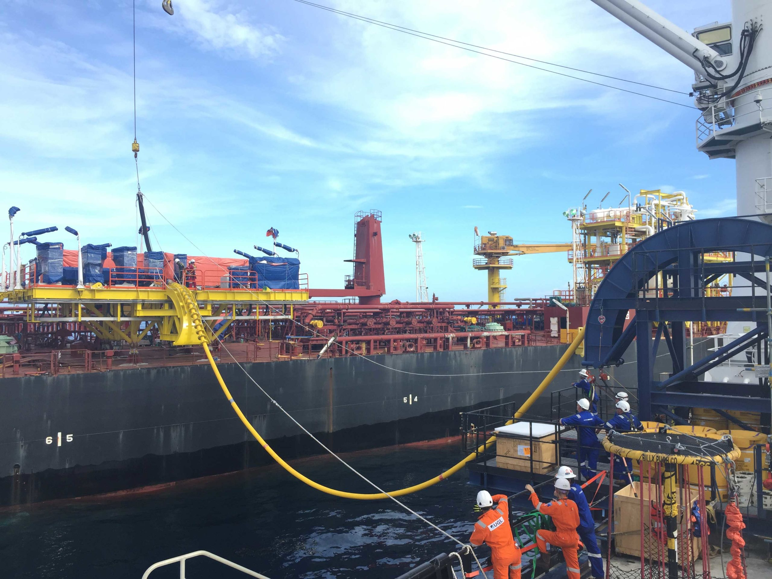 InterMoor installs new ESP system for the Mampu-1 FPSO facility