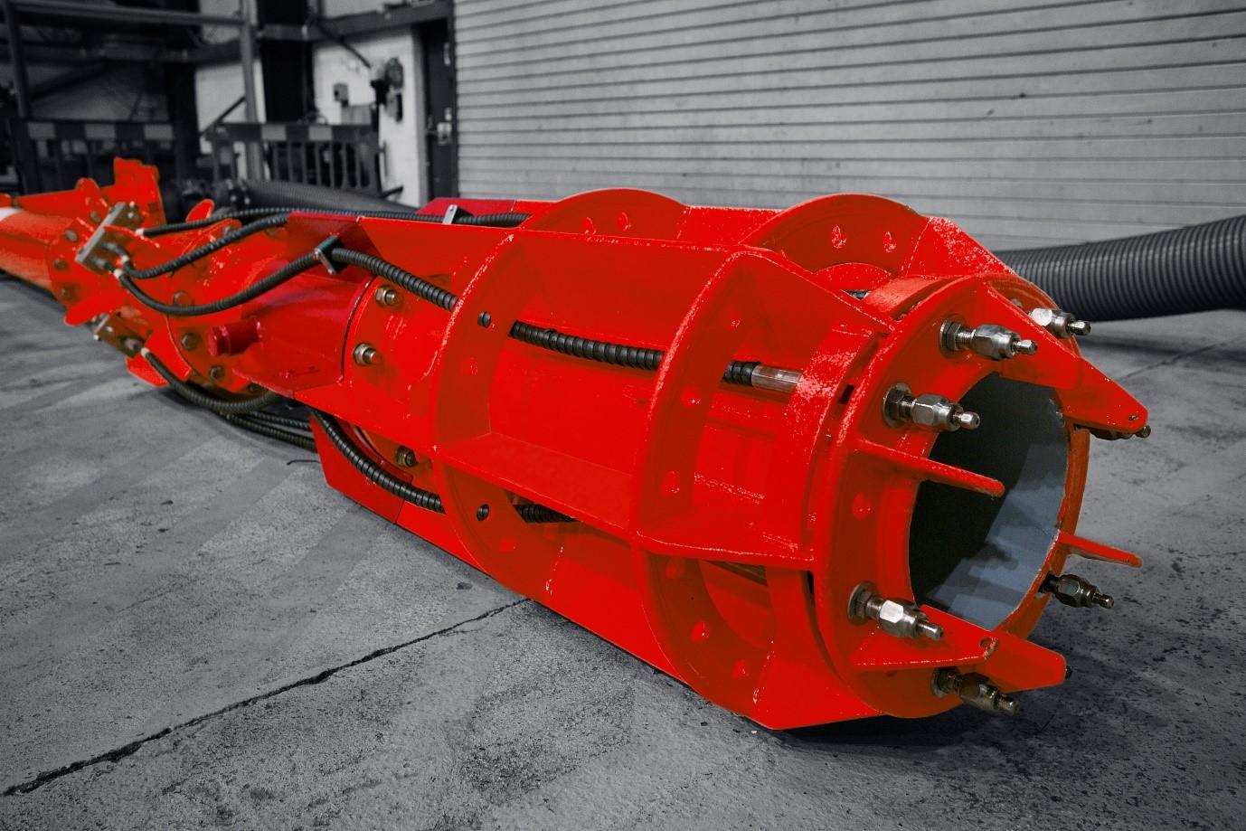 Claxton dredging equipment