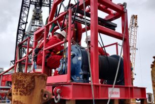Maiden voyage for Claxton's new cut verification technology on Gulf of Mexico project