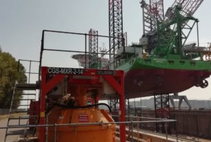 DEME saves critical vessel time with grouting solution