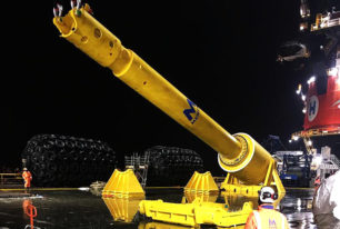 MENCK provides world's largest hammer to Heerema Marine Contractors
