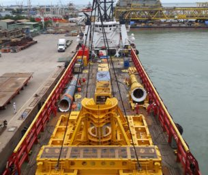 Successful FPSO mooring installation under tight schedule