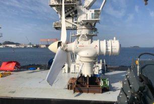 UTEC supports installation of demonstration tidal turbine offshore Japan