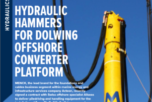 'Wind Energy Network' features MENCK's contract award to deliver hydraulic hammers for DolWin6 offshore converter platform