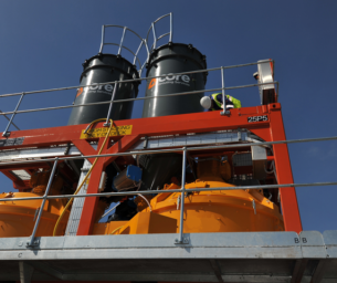 A unique high-volume grouting solution for Musaimeer pumping station outfall shaft